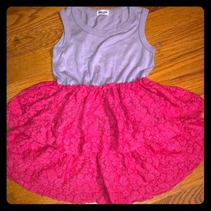 Splendid Baby Lace Ruffle Tank Dress